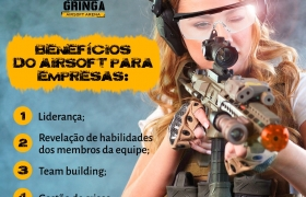 Arena de Airsoft no Recreio